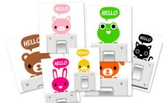 Hello! stopcontact sticker  -  Kidooz - Hippe kids musthaves