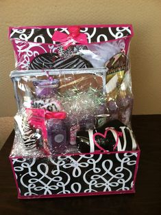 This gift basket is full of awesome beauty and makeup items. How ...