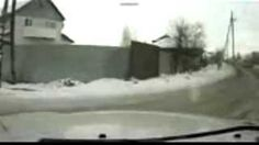 Car Crash Accident Russia Video
