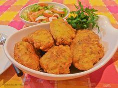 Codfish Fritters    7gramas de ternura: Pataniscas de BacalhaU    Frituras de Bacalao ó Bacalaítos