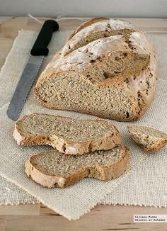 Receta de pan de centeno fácil. Con fotos del paso a paso, consejos y sugerencias de degustación. Recetas de panes. Panadería. Recetas de pan ca...