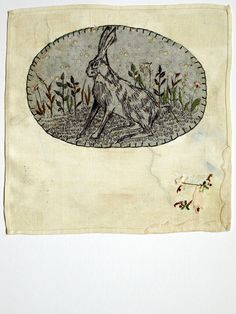 lovely illustrative work!! natural use of stitch and colour/fabric