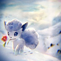 EKMキム(ekm) on beautiful alolan vulpix digital painting! This would be perfect as a computer background or wallpaper! I love Pokemon Fan Art in this style Pokemon Ninetales, Pokemon Mew, Pokemon Fan Art, Alolan Vulpix, Pokemon Tattoo, Pokemon Mignon, Photo Pokémon, Pokemon Original, Pokemon Memes