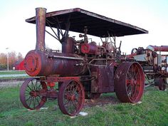 Antique Farm Machinery Collection - Steam Tractor - US 31 - West Olive, Michigan by randomroadside, via Flickr