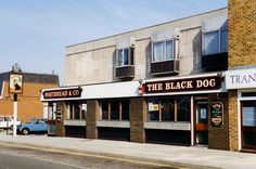 The Black Dog in Arundel Street was a 1965 replacement for a nearby pub of the same name. Now demolished to make way for flats. Portsmouth Pubs, Portsmouth England, Make Way, Pub Bar, Old Photos, Childhood Memories, Places To Travel, Nostalgia, Photographs