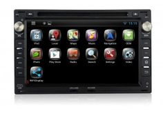 """Pumpkin 7"""" Pure Android 4.4 In Dash Car DVD Player Double/2 Din Radio Head Unit With GPS / OBD2 / 3G / WIFI / 1080P / DVR For VW"""
