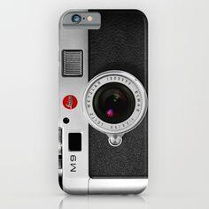 classic retro Black silver Leather vintage camera iPhone 4 4s 5 5c, ipod, ipad case iPhone & iPod Case