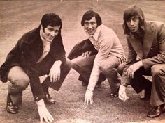 George Graham Ray Kennedy & Charlie George Try the Wembley Turf the Morning Before the 1971 FA Cup Final.
