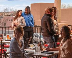 Rooftop dining in Albuquerque plus recipe for Grilled Pizza With Fire-Roasted Tomato Sauce. Tasting NM - New Mexico Magazine