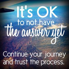 It's OK, I promise. :)