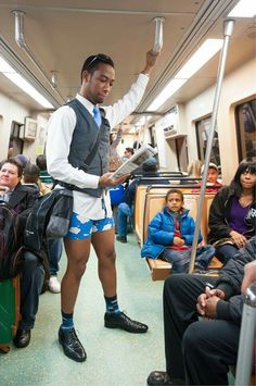 Jan .11 was No Pants Day on Marta in Atlanta, GA. Does your town have any strange customs?  http://www.tellwut.com/surveys/current-affairs/news/78892-on-jan-11th-in-atlanta-ga-they-had-no-pants-day-on-marta-metro-area-rapid-transit-authority-it-was-very-cold-and-yet-a-lot-of-young-people-just-went-and-got-on-the-train-with-coats-on-top-and-only-underwear-on-their-bottom-some-had-boxers-but-a-lot.html