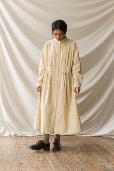 Muslim Fashion, Korean Fashion, Custom Dresses, Minimal Fashion, Light Beige, Casual Wear, Beautiful Dresses, Fashion Outfits, Shirt Dress