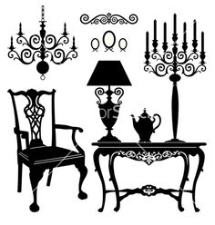http://cdn.vectorstock.com/i/composite/74,24/antique-furniture-vector-687424.jpg
