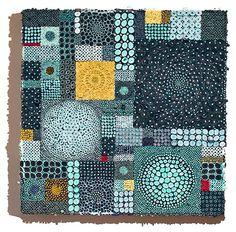 g_42_TurquoiseJigsaw_small by Amy Eisenfeld Genser