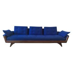 adrian pearsall vintage tan sofa on chairish com sofas pinterest rh pinterest com
