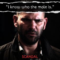 Huck is the man#Scandal