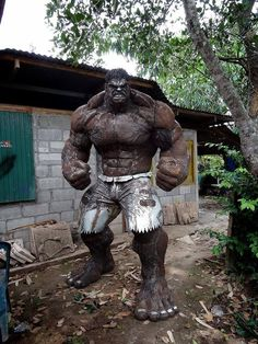 The scrap metal Hulk, incredible!