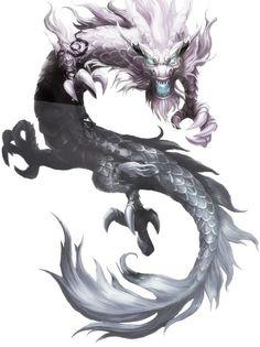 Dragon Tattoo Art, Dragon Artwork, Dragon Tattoo Designs, Japanese Dragon, Chinese Dragon, Fantasy Monster, Monster Art, Mythical Creatures Art, Fantasy Creatures