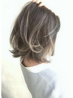 Rumor×アッシュグレージュ☆グラデーションカラー - 24時間いつでもWEB予約OK!ヘアスタイル10万点以上掲載!お気に入りの髪型、人気のヘアスタイルを探すならKirei Style[キレイスタイル]で。