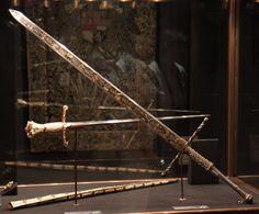 Espadón que fue del emperador Maximiliano - Alemania  - Finales del siglo XV