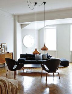 This stylish Stockholm apartment belongs toEvelina Kravaev-