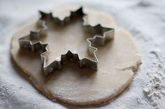 ♕ snowflake sugar cookies