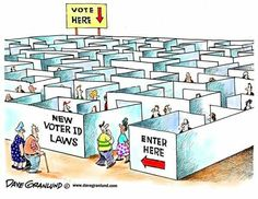 REGISTER EARLY! FIGURE OUT THE REQUIREMENTS & LAWS EARLY! BE PREPARED BEFORE NOVEMBER! #Vote