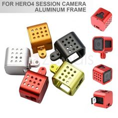 Aluminum Alloy Protective Cage Housing Case for Gopro Hero 4 Session