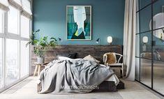 綠色的韻味,烏克蘭 13 坪輕工業雅痞公寓 - DECOmyplace 新聞