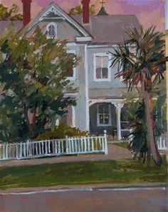 """Daily Paintworks - """"Apalachicola!"""" - Original Fine Art for Sale - © Haidee-Jo Summers"""