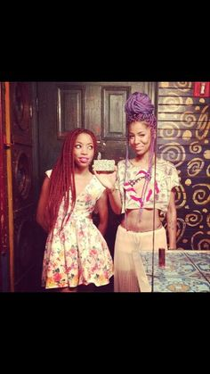crazy hair, box braids, purple hair, protective hairstyles, red, colorful hair, boxes, protective styles, beauti