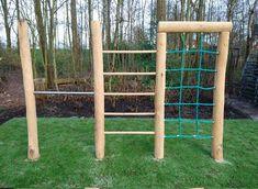 Backyard Jungle Gym, Backyard Swing Sets, Outdoor Fun For Kids, Backyard For Kids, Backyard Obstacle Course, Preschool Garden, Tree House Designs, Kids Play Area, Backyard Playground