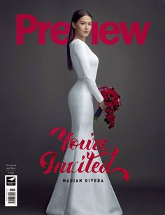 LOOK: Marian Rivera wows in 4 bridal gowns Colorful Fashion, Asian Fashion, Look Fashion, Latest Fashion, Fashion Design, Marian Rivera Wedding Gown, Bridal Gowns, Wedding Gowns, Bridal Hair