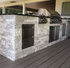 AirStone is an ultra-light recycled material that provides the beauty, texture and durability of real stone without the need for professional installers or specialized tools. Airstone Backsplash, Backsplash Ideas, Airstone Fireplace, Fireplaces, Outdoor Fireplace Plans, Fireplace Ideas, Faux Stone Walls, Outdoor Stone, Modern Sink