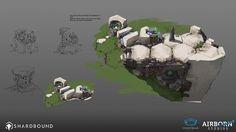 Shardbound - Spiritwalk Games - Look Development on Behance