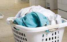 How to remove rust stains from laundry.