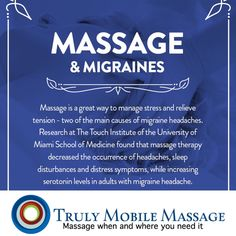 To book appointment  https://squareup.com/appointments/book/8KRR377JQV073/truly-mobile-massage