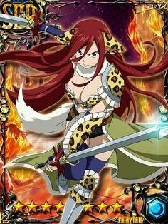 #Erza_Scarlet Meredy Fairy Tail, Fairy Tail Erza Scarlet, Fairy Tail Anime, Anime Couples Manga, Cute Anime Couples, Anime Girls, Nalu, Jerza, Erza Scarlett
