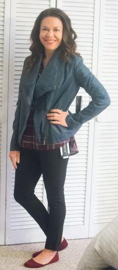 5cdb627d5d2 Fun2Fun Byram Henley Top Mo-Ka Alvere Faux Leather Jacket Liverpool Reagan  Skinny Pant Stitch Fix Review December 2016  stitchfix  somuchtoenjoy   stitchfix