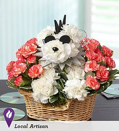 Rock Star Dog Arrangement - um this is obnoxious, and not even that cute. but i don't care, it's a dog. made of flowers. Unique Flower Arrangements, Unique Flowers, Beautiful Flowers, Beautiful Things, Bday Flowers, 800 Flowers, Quince Decorations, Flower Decorations, Puppy Flowers