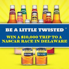 Twisted Tea's Race To Dover Sweepstakes