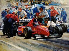 On-The-Grid-Ferrari-Michael-Schumacher-Limited-Edtion-print-by-Alan-Fearnley