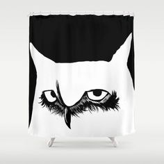 """Noturno"" Shower Curtain"