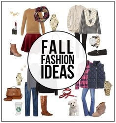 Fabulous Fall Fashion Ideas -- favorites on mine!  Time to do a little shopping before the cool weather rolls in.  www.livelaughrowe.com