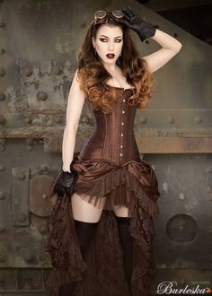 Steampunk Lady... Thedory in Velvet