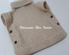 Alice, Knitting, Crochet, Sweaters, Baby, Amelia, Fashion, Knit Poncho, Knit Vest