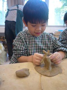 10/18 Lee by 藝術課運用陶土素材創作自己的小花園