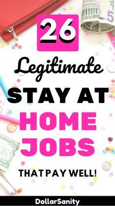 Legit Work From Home, Legitimate Work From Home, Work From Home Jobs, Earn Money From Home, Way To Make Money, Make Money Online, Customer Service Jobs, Home Based Jobs, Making Extra Cash