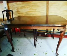 Antique Gibbard table,  another great piece in our online auction  https://auction.blackpearlemporium.ca/m/#/auction/18/item/gibbard-6-leg-antique-walnut-dining-table-123 #collingwood #homedecor #furniture #shoplocal #auctions