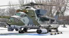 Mil Mi-24 (Hind) - Armed Assault / Attack Helicopter